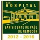 E.S.E HOSPITAL SAN VICENTE DE PAÚL NEMOCÓN