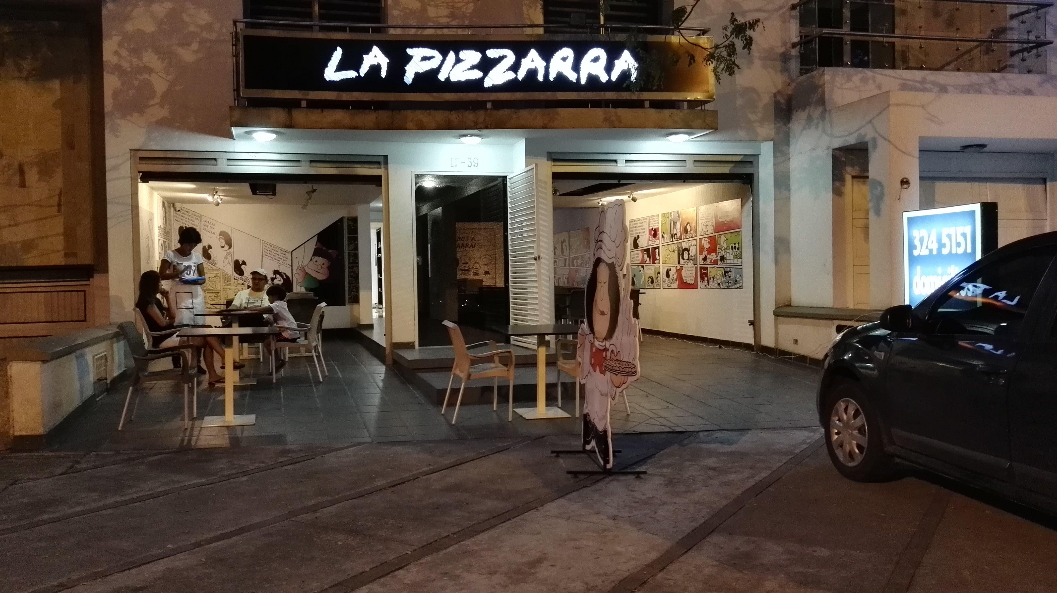 La pizzarra