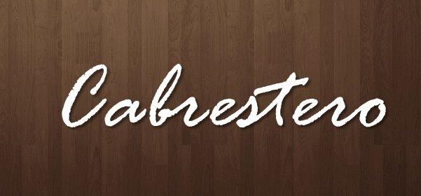 Cabrestero