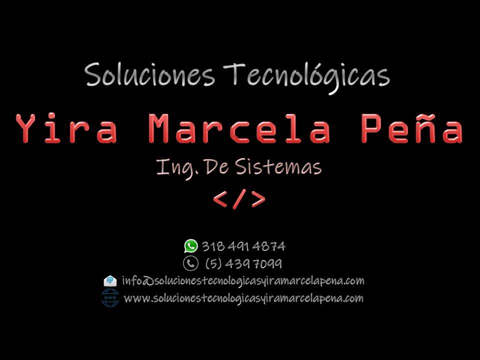 SOLUCIONES TECNOLÓGICAS YIRA MARCELA PEÑA