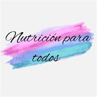 NUTRICIÓN PARA TODOS