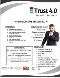 trust 4.0 seguridad privada