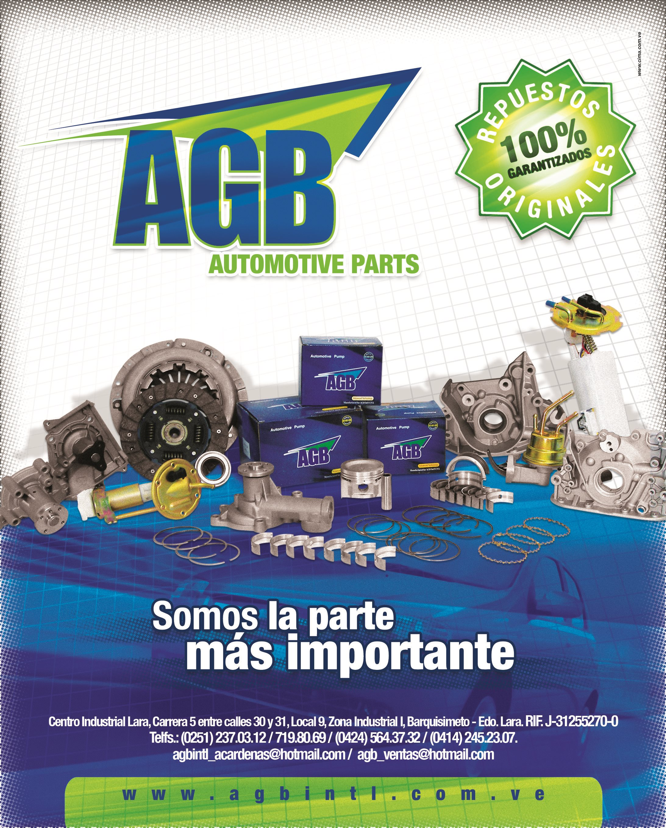AGB, c.a