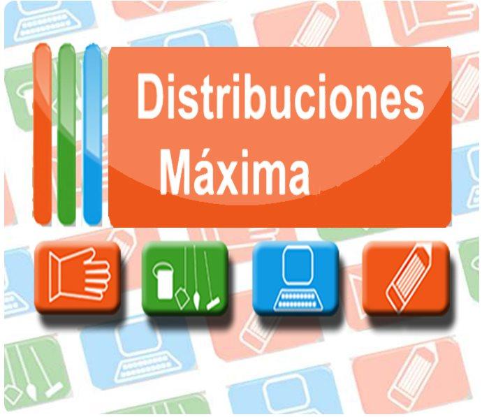 Distribuciones Maxima, c.a