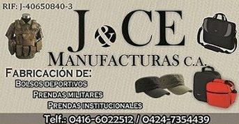 J &CE MANUFACTURAS C.A.