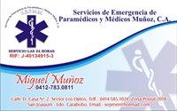 Servicios de Emergencia de Paramédicos y Médicos Muñoz, C.A
