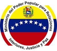 Ministerio del Poder Popular para Relaciones Interior Justicia y Paz